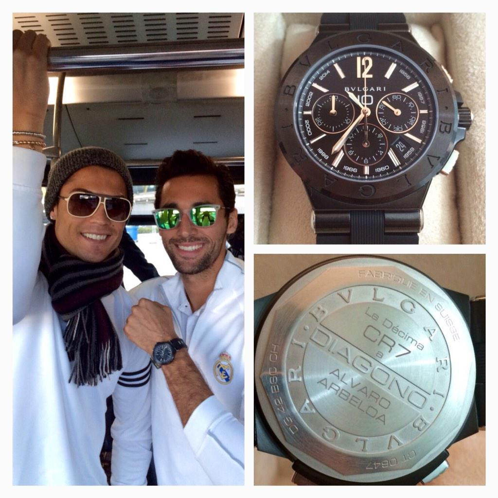Photo of Cristiano Ronaldo buys all his teammates a R100 000 watch each