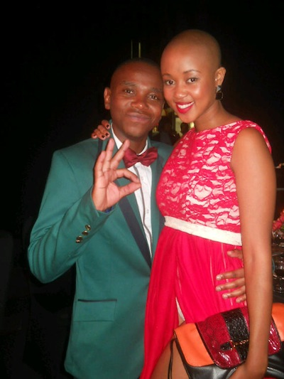 Nomuzi Mabena and Thomas Gumede