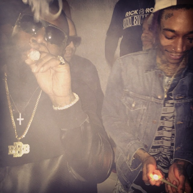 Rick Ross and wiz