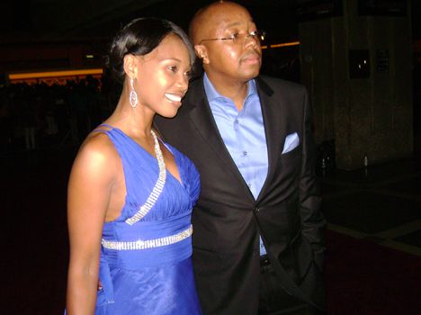 Sonia and Leslie Sedibe