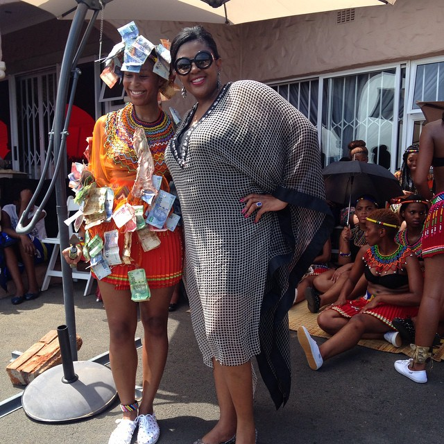 In Case You Missed It Pics From Minnie Dlaminis Womanhood Ceremony