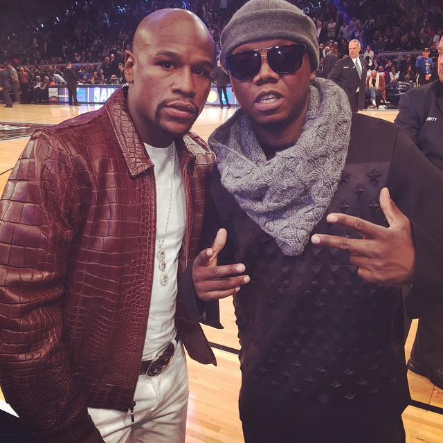 Tbo touch and floyd Mayweather