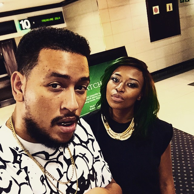 aka and zinhle movie night