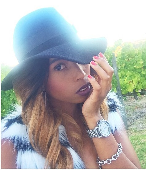 Miss Denise Zimba Brings A Whole New Meaning To Looking Sexy In Fur