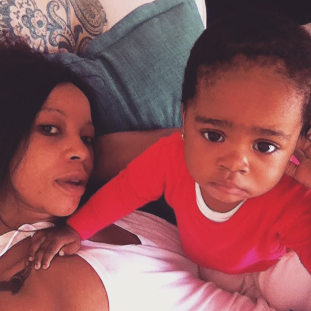 Kelly Khumalo S Daughter Thingo Celebrate 1st Birthday