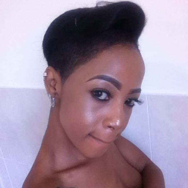 Kelly Khumalo Takes A Minute To Address The Bleaching Haters! - OkMzansi - kelly-khumalo-short