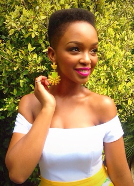 South African Celebrities With Natural Hair