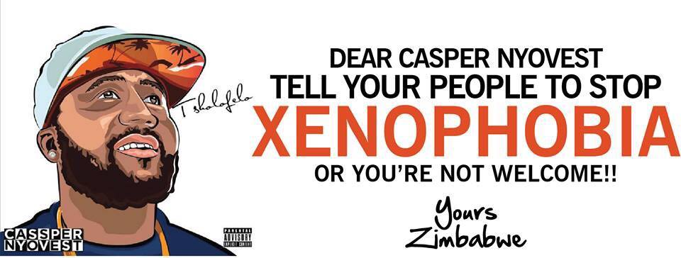 note from zim to cassper