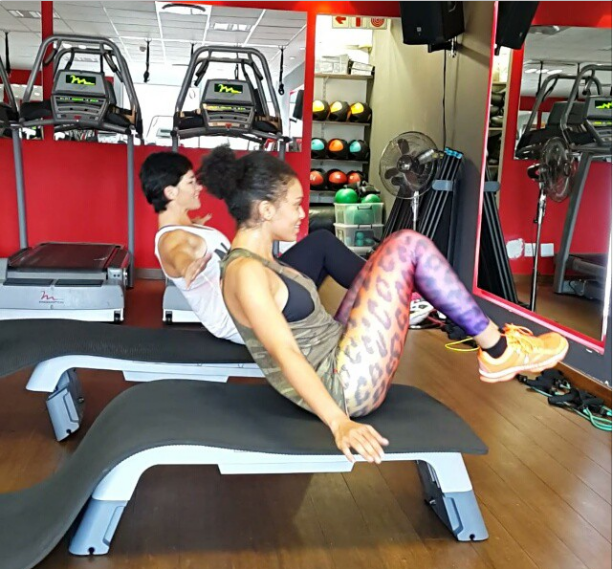 Check out pearl thusi s on how to get those sexy abs