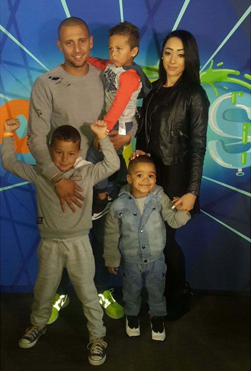 South African Celebrities That Were Spotted At The Nickelodeon Fest With Their Kids -2232