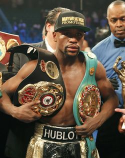 Photo of ICYMI: Mayweather Gets Stripped Of The Title He Won Against Pacquiao!