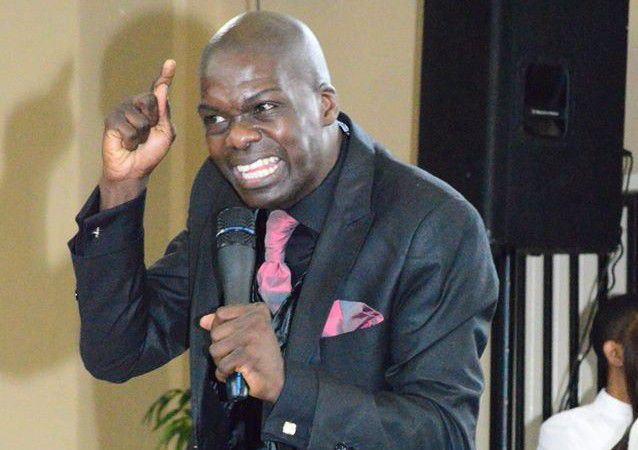 Photo of Pastor Says Making His Congregation  Drink Petrol Is The Same As Giving Them Holy Communion.