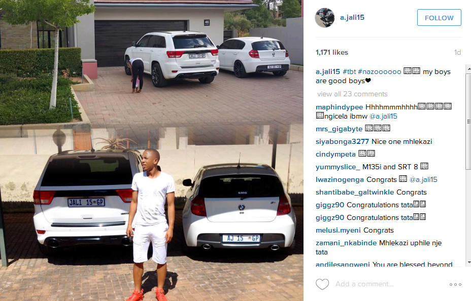 Nonhle Ndala And Andile Jali Show Off Their Amazing New