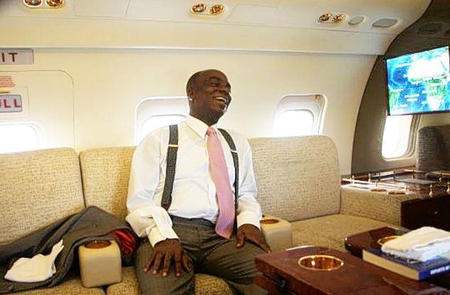 David Oyedepo Jet Inside