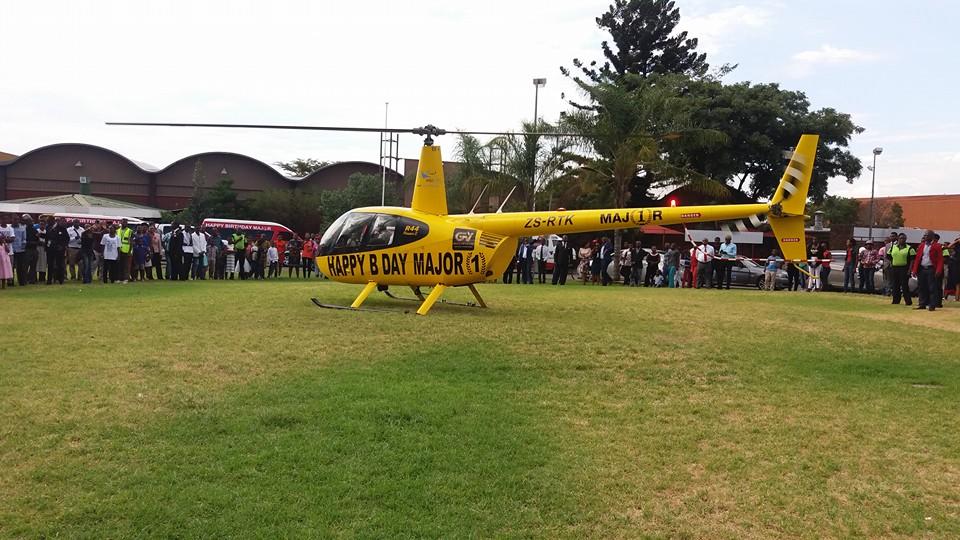 Prophet Shepherd Bushiri Helicopter