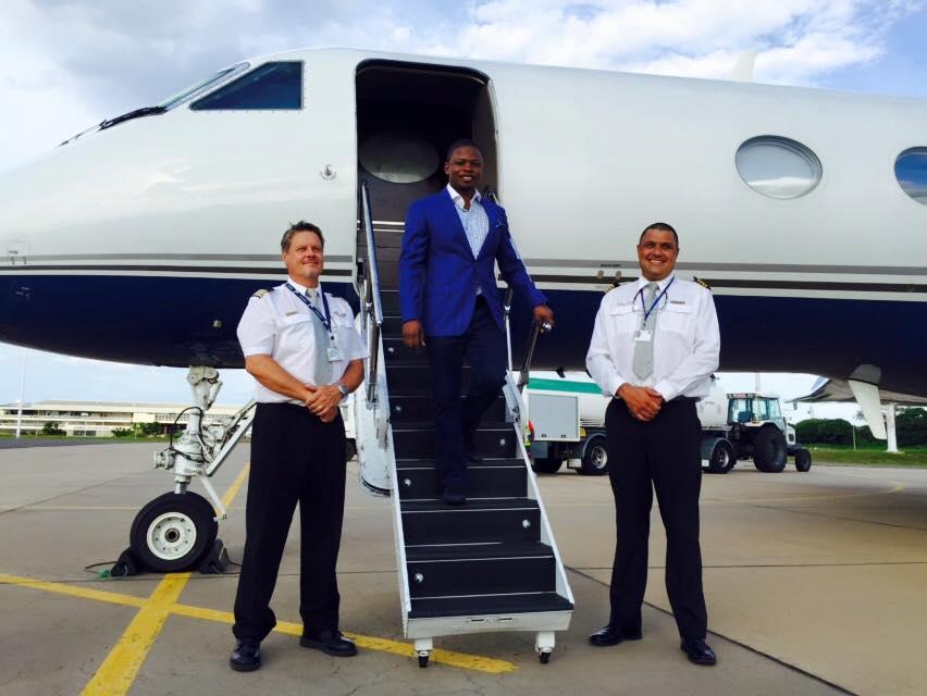 Prophet Shepherd Bushiri Private Jet