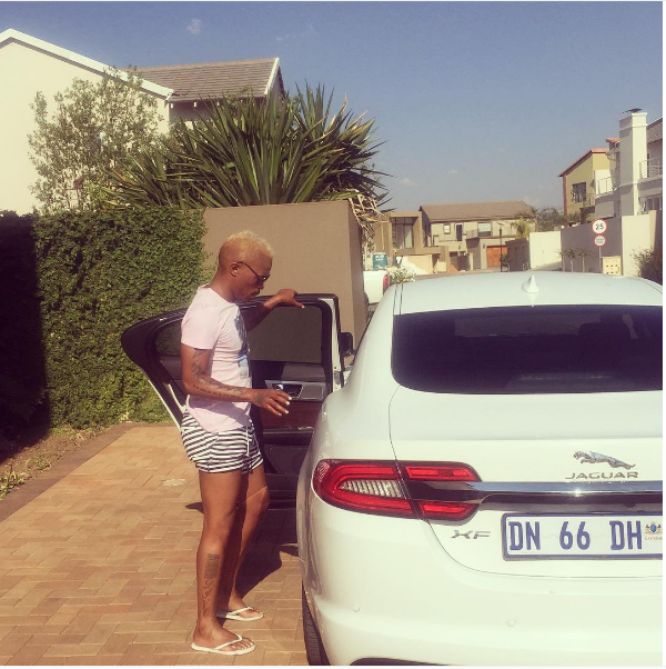 Somizi Mhlongo And His Cars Part2 Okmzansi