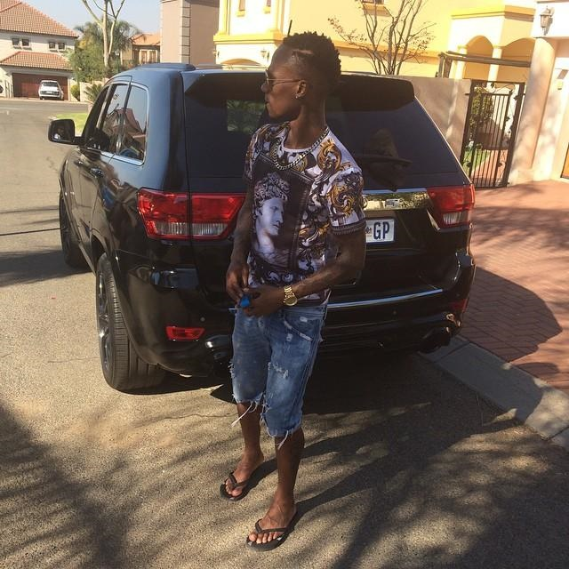 Teko Modise And His Car Collection