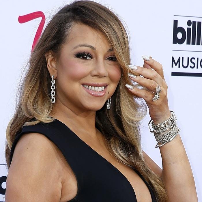 2015 Billboard Music Awards Arrivals at MGM Grand Garden Arena Las Vegas Featuring: Mariah Carey Where: Las Vegas, Nevada, United States When: 17 May 2015 Credit: Judy Eddy/WENN.com