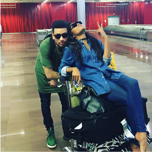 bonang matheba and aka dating dj