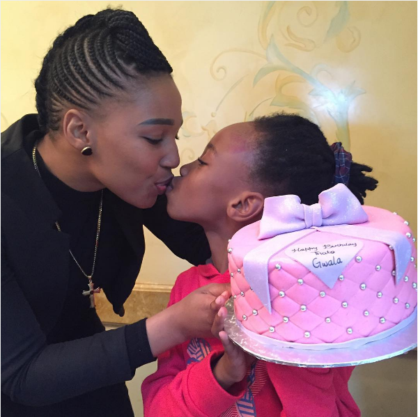 Phindile Gwala Celebrates Her Daughter's Bday In Style - OkMzansi