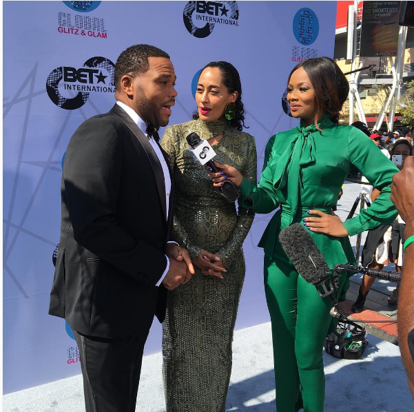 5 WOW Moments From Bonang At The BET Red Carpet