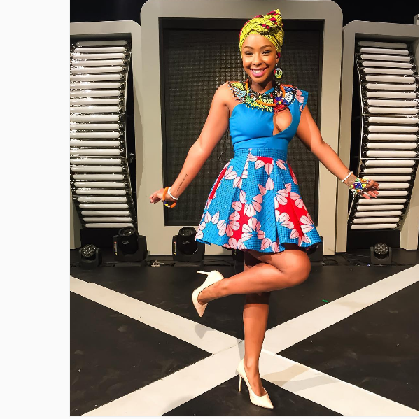 Boity Celebrates Hitting A Million Instagram Followers