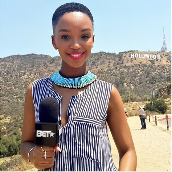 Newly Wed Nandi Mngoma Is The New Face Of BET Africa