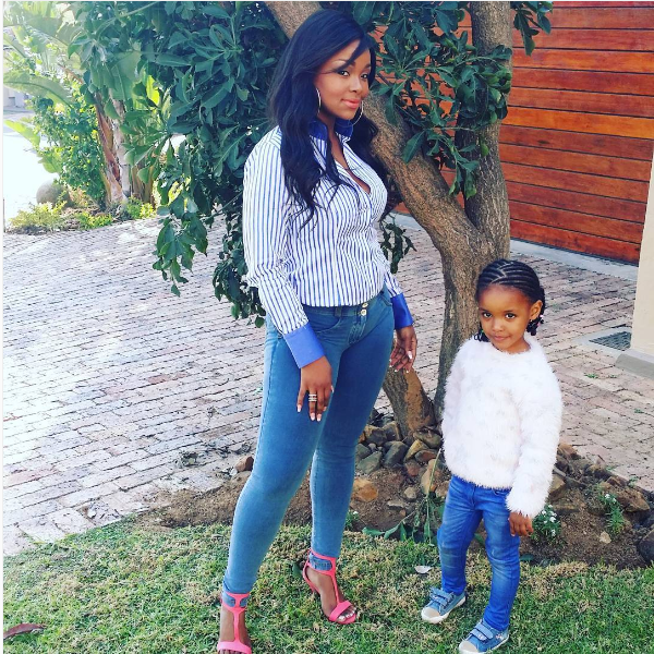 Nonhle Thema Is A Proud Mommy To Daughter Star