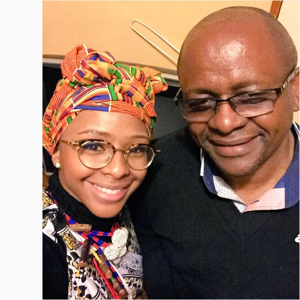 SA Celebs Celebrate Their Dads On Father's Day