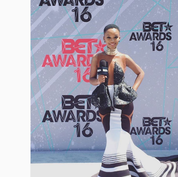 South African Celebs Shine At The BET Red Carpet