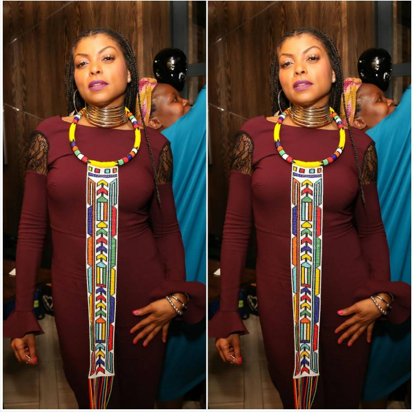 Fake News! Taraji P. Henson Slams Reports That She's Coming To SA