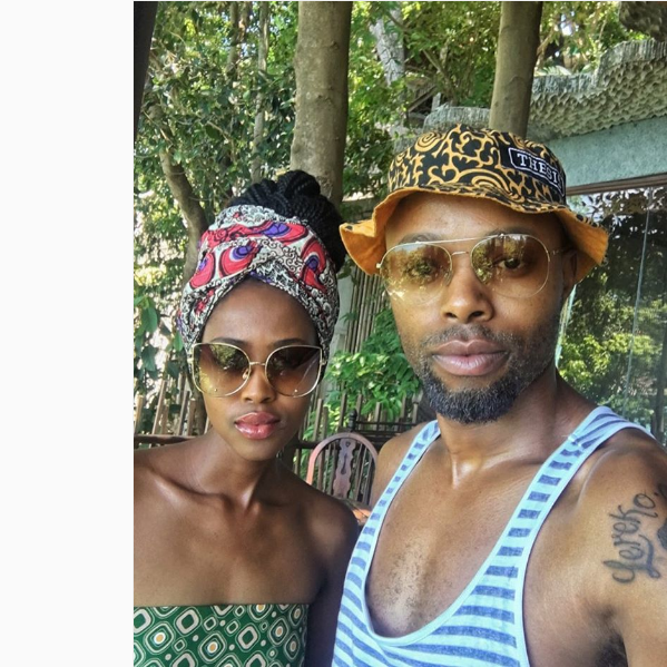 Thapelo Mokoena And His Wife Trade In Winter For Some Fun ...