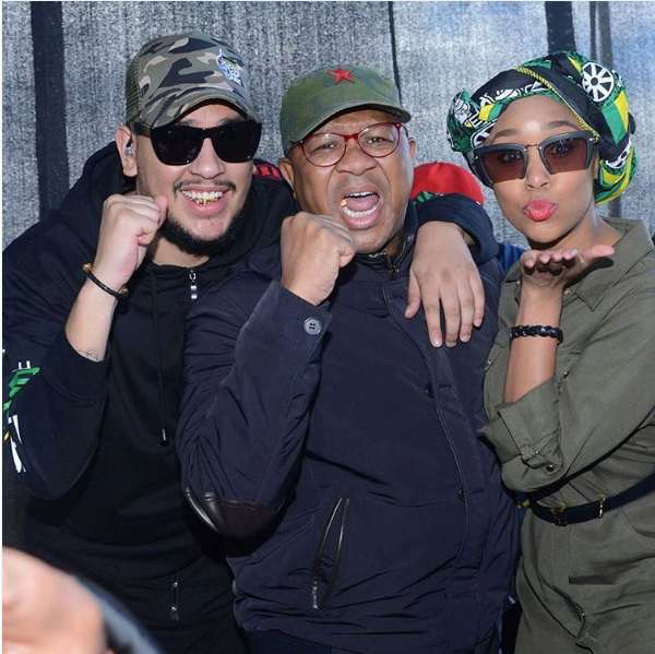 10 Celebrities Who Publicly Support ANC
