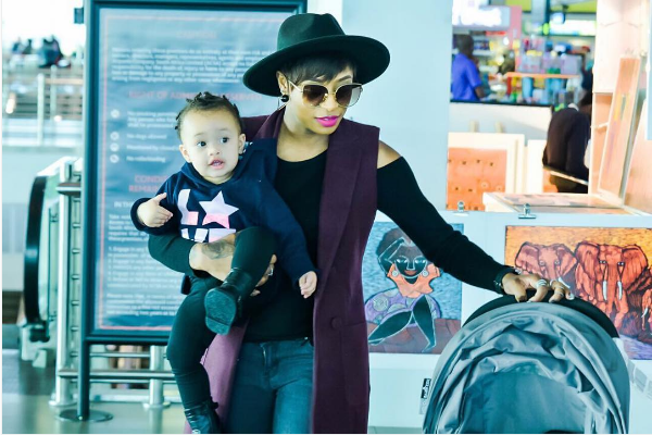 5 Times DJ Zinhle Was The Definition Of A Modern Mommy