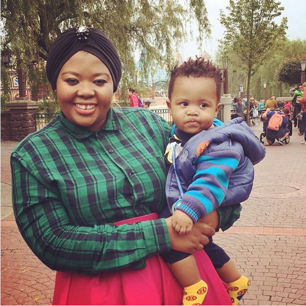 Anele Gushes About Her Son Alakhe