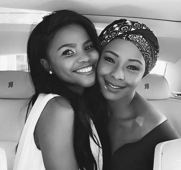 Boity And Khanya Being Silly In A Rolls Royce Is Our BFF Goals