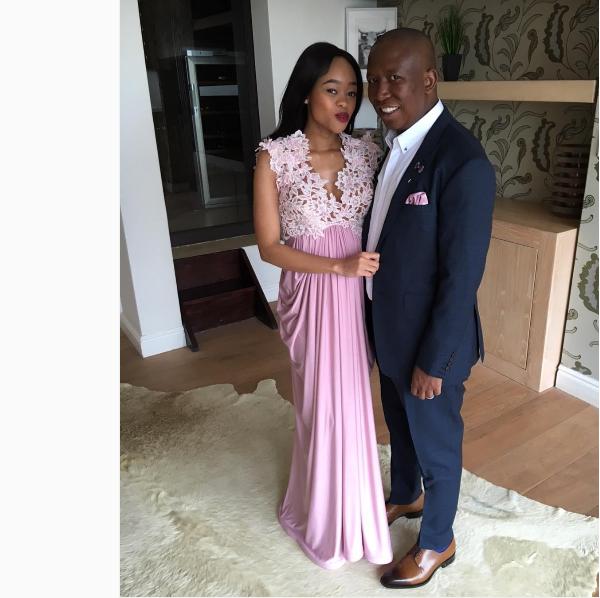 Julius' Wife Durban July Dress Sparks Pregnancy Rumors