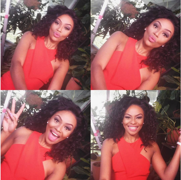 LOL! Bonang Attempts To Speak With An English Accent