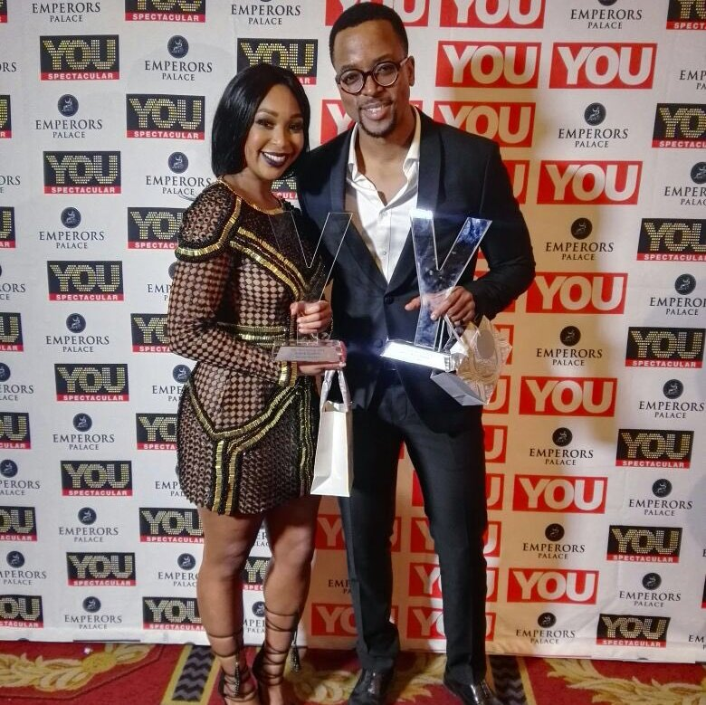 Minnie Dlamini & Maps at You spectacular awards