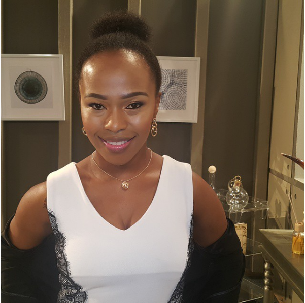 Muvhango's Sindi Dlathu Talks Her Craziest Fan Encounter