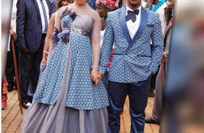 Pics From Ashes to Ashes' Tsietsi and Mpho's Wedding