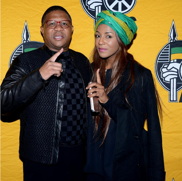 SA Celebs Who Have Been Spotted Rocking The ANC Doek