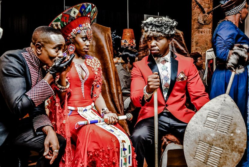 See Pics Of Generations Mazwi And Sphe S Traditional Wedding