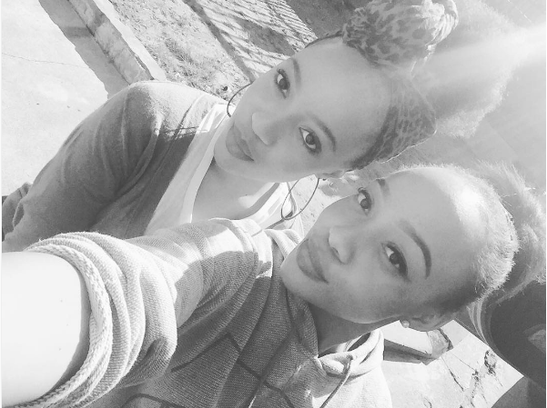 Thando Thabethe And Her Sister Could Pass As Twins