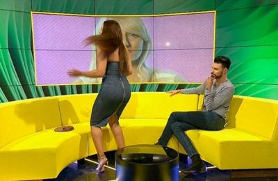 Watch UK BigBrother Contestant's Dress Rip Live On Air