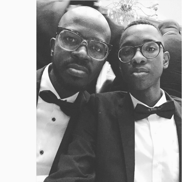 Black Coffee's Son Follows In His Footsteps