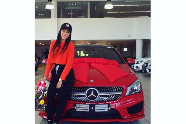 #GirlsWithAMGs SA Female Celebs Who Own Merc Cars
