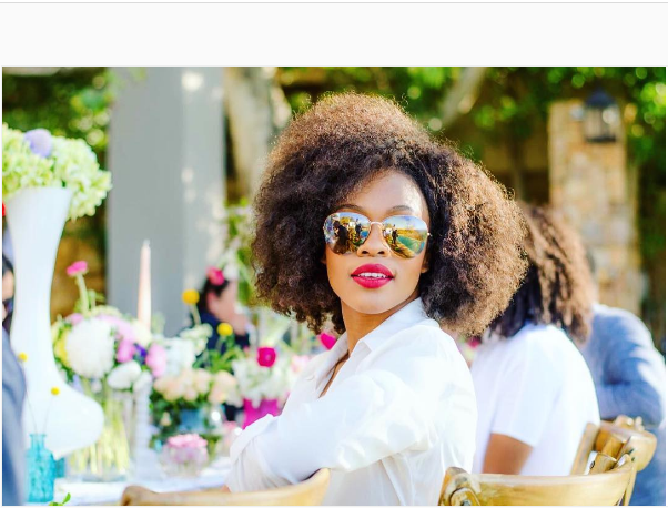 """Growing Up I Didn't Think I Was Pretty,"" Says Nomzamo"