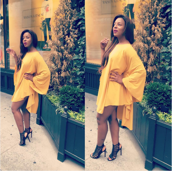 Jessica Nkosi Lives It Up In New York City